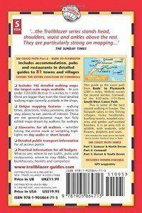 Cornwall Coast Path guide book back cover