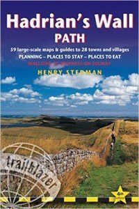 Hadrian's Wall Path guide book Front Cover
