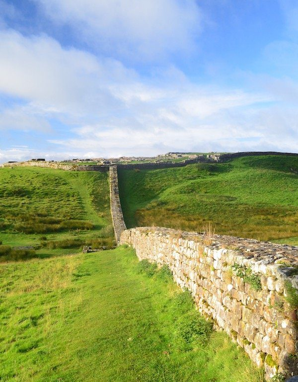 Housesteads Roman Fort, highlight of the Hadrian's Wall Path