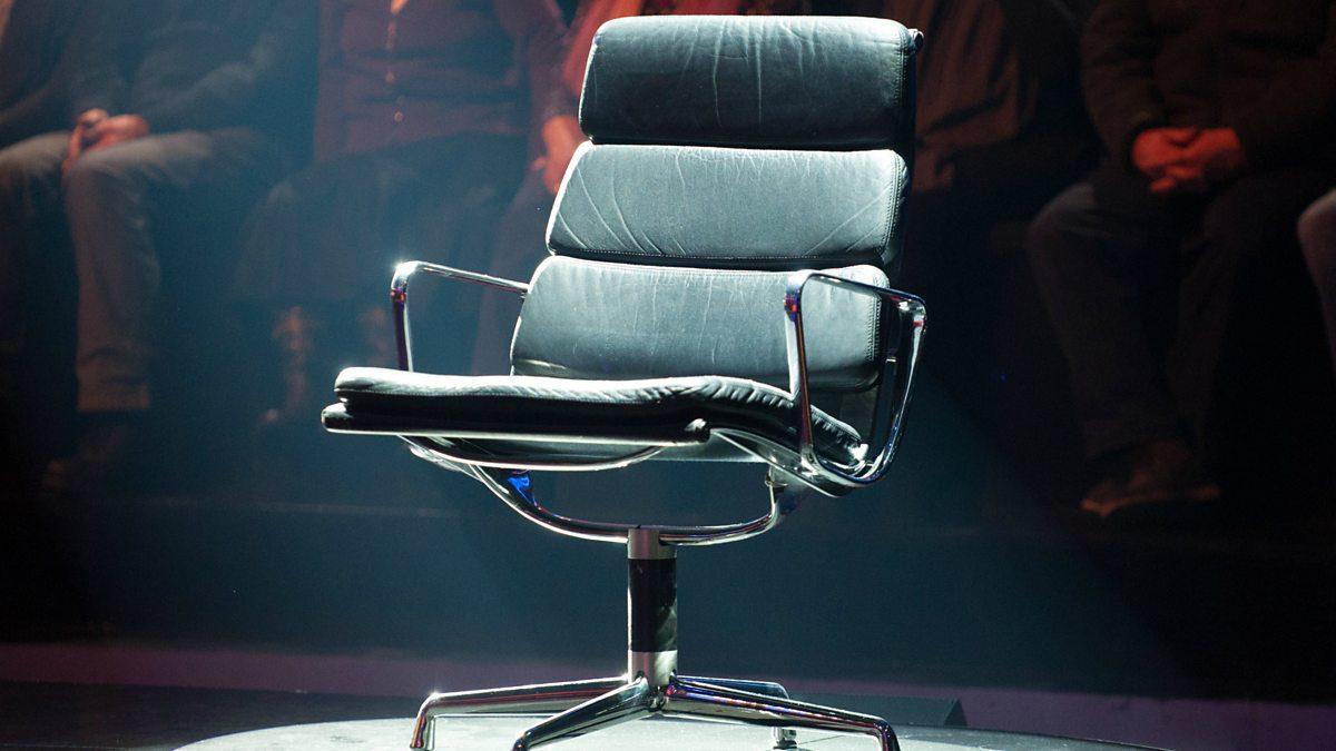 Mastermind black chair