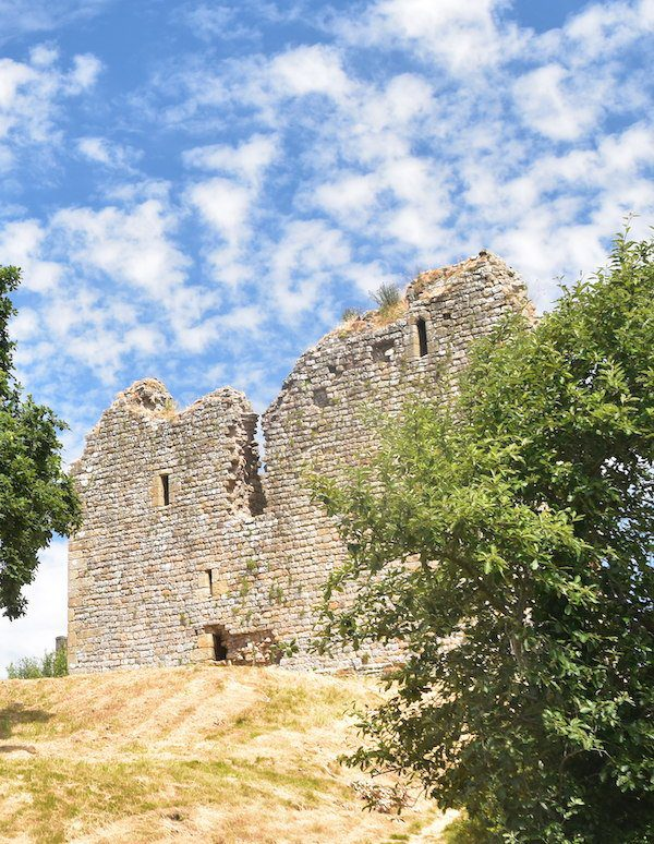 Thirlwall Castle sits on two National Trails, Hadrian's Wall and the Pennine Way