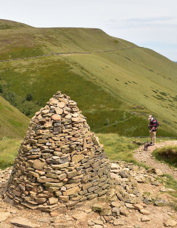 One of the hardest National Trails is the Pennine Way, as shown here on the first day up to Kidsty Pike