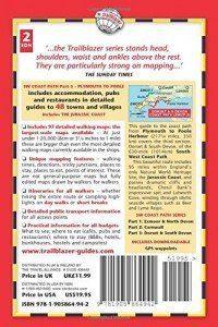 South Devon and Dorset Coast path guide book back cover