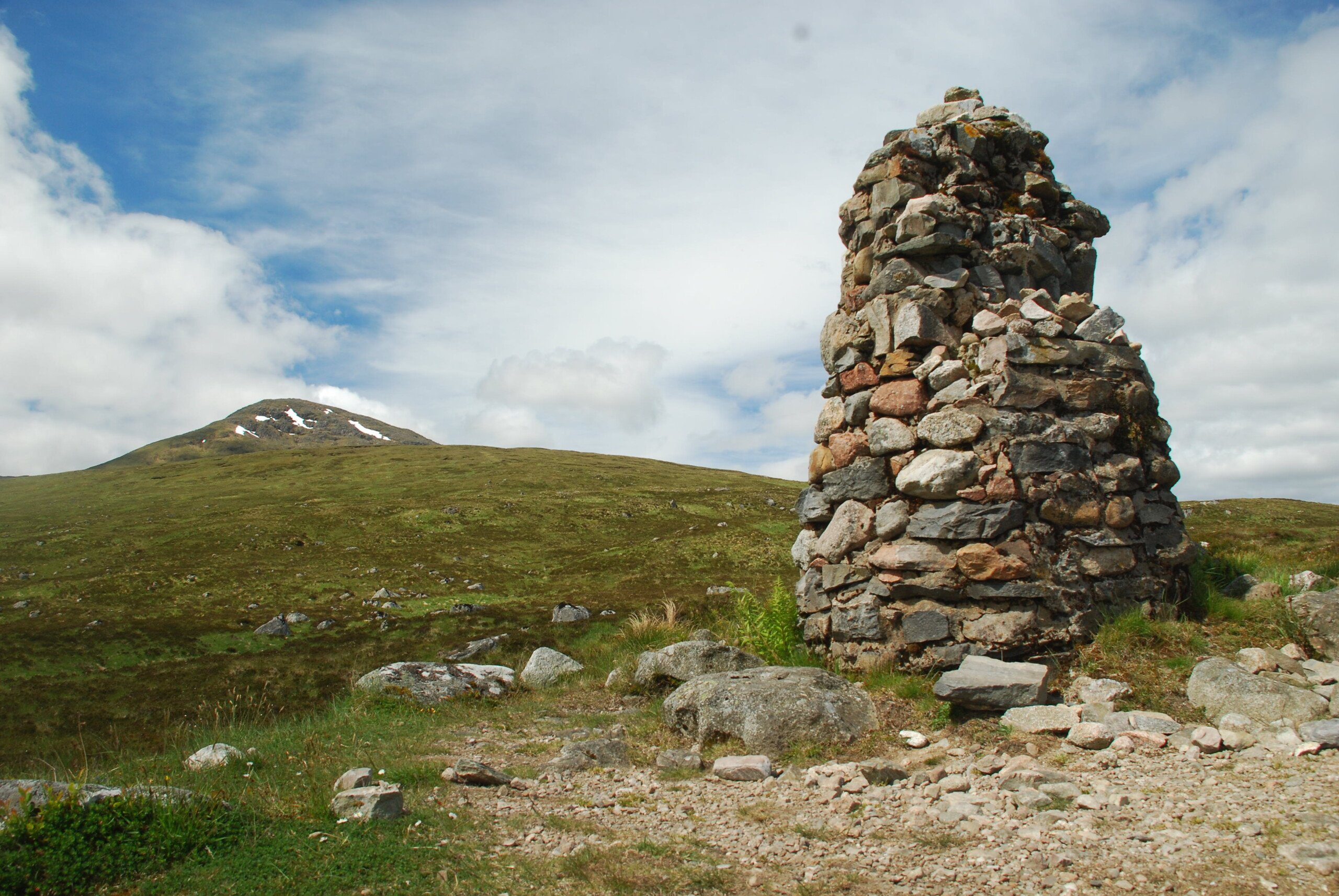 Fleming Cairn, Rannoch Moor