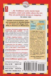 Dales Way guide book back cover
