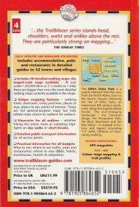 Offa's Dyke PATH guide book back cover