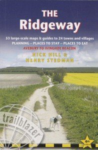 Ridgeway guide book front cover
