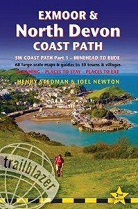 Exmoor & North Devon Coast Path guide book front cover