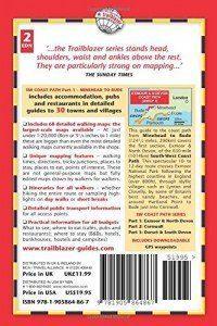 Exmoor & North Devon Coast Path guide book back cover