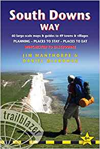 South Downs Way guide book front cover