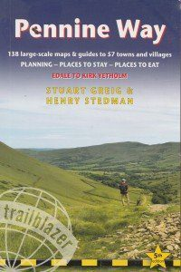 Pennine Way guide book front cover