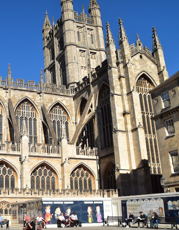 Bath Abbey, the best final destination of any long-distance trail