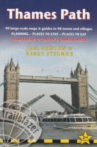 Thames path guide book front cover
